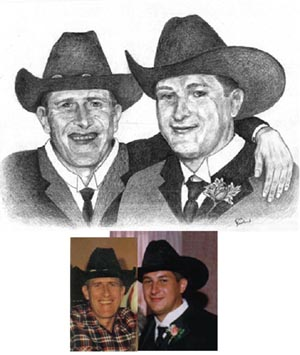 Cowboys Portrait