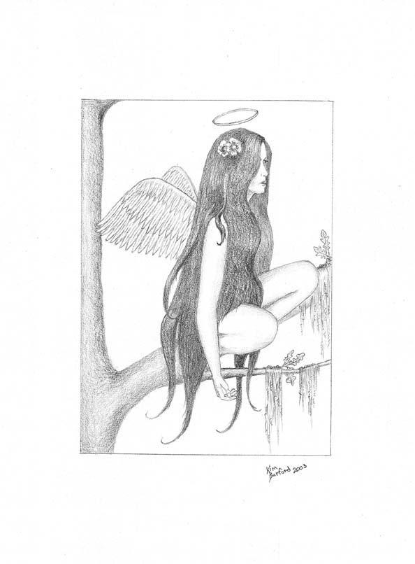 Resting Angel Portrait
